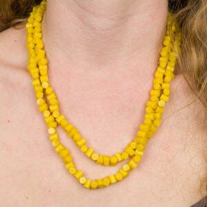 Žluté Korálky