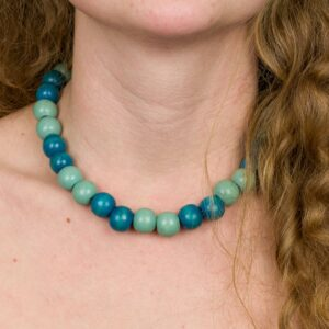 Zeleno-modré Korálky