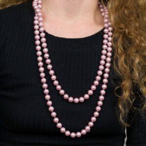 Náhrdelník Růžové Perly
